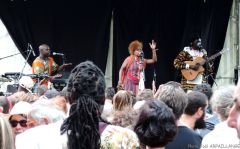 AFRICAJARC 2015 Concert de Georgina Razafindrakoto scène bord du Lot