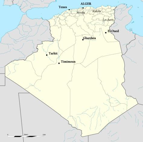 carte perso algerie
