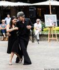 Tangopostale avec Conexion Tango Place St Georges 2 juillet 2015